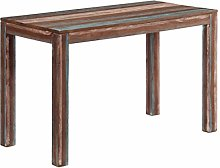 Tidyard Dining Table Vintage Wooden Table Solid
