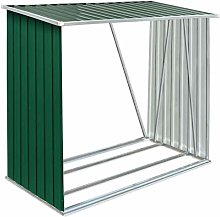 Tidyard Garden Log Storage Shed | Galvanised Steel