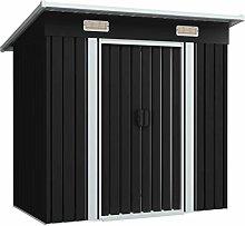 Tidyard Garden Storage Cabinet Outdoor Country