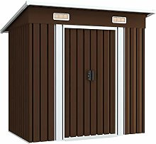 Tidyard Garden Storage Shed with Double Sliding