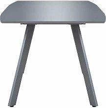Tidyard Rectangular Dining Table High Gloss Grey