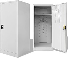 Tidyard saddle cabinet steel 60x60x140 cm with 1