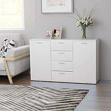 Tidyard Sideboard Storage Cabinet 120x35,5x75 cm