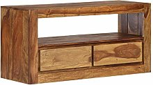 Tidyard TV Cabinet TV Stand For Living Solid
