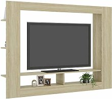 Tidyard TV Cabinet with 2 Compartments and 6
