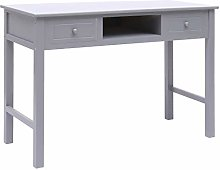 Tidyard Writing Desk with 2 Drawers and 1 Open