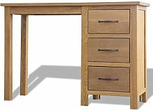 Tidyard Writing Desk with 3 Drawers | Solid Oak