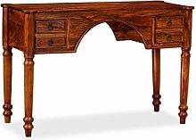 Tidyard Writing Table Wooden Computer Desk with