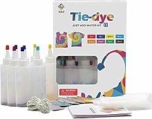 Tie Dye Kit for Kids&Adults,8/18Colors Shirt Dye