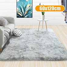 Tie-Dyed Soft Carpet Thickened Area Rug Anti-Slip