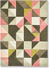 Tielles Rose Rug - 170 x 240 / Pink / Wool