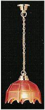 Tiffany Hanging Lamp Pink