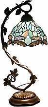 Tiffany Lamp - Bedside Lamp with Stained Glass