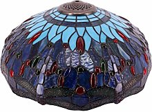 Tiffany Lamp Shade Replacement 16 Inch Blue