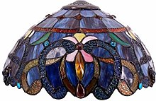 Tiffany Lamp Shade Replacement 16 Inch Sea Blue