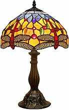 Tiffany Lamp Stained Glass Bedside Table Lamp