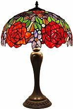 Tiffany Lamp Stained Glass Coffee Table Desk