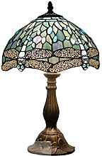 Tiffany Lamp Table Lamp Sea Blue Stained Glass