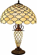Tiffany Lamp with Nightlight Rustic Large Stained