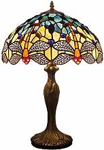 Tiffany Lamps Blue Dragonfly Style 24 Inch Tall