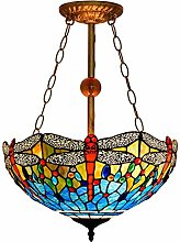 Tiffany Style Hanging Lamp Chandelier Ceiling