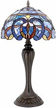 Tiffany Style Lamp Stained Glass Table Lamps Blue