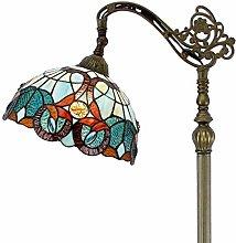 Tiffany Style Reading Floor Lamp Lighting W12H64