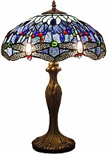 Tiffany Style Table Desk Beside Lamp 24 Inch Tall