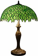 Tiffany Style Table Lamp Stained Glass Bedside