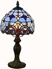 Tiffany Style Table Lamps Lighting Blue Purple