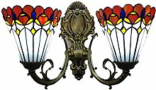 Tiffany Style Wall Lamp European Pastoral Color