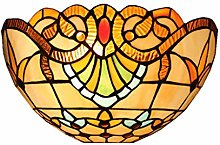 Tiffany Style Wall Lamp Stained Glass 1-Light with