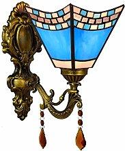 Tiffany Style Wall Sconce Lights Mediterranean