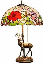 Tiffany Table Lamp Bedroom Bedside Lamp Retro