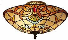 Tiffany Table Lamp Bedroom Bedside Table Baroque