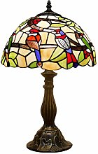 Tiffany Table Lamp Stained Glass Bedside Lamp