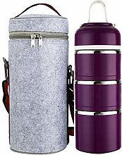 Tiffin Box Stainless Steel Insulated 3 layer Lunch