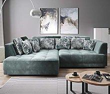 TIGA Modern Corner Sofa Bed Electric Seat Depth
