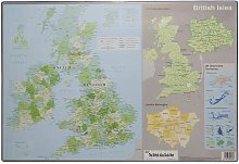 Tiger British Isles Desk Mat (One Size)