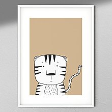 Tiger Print - Wall Art | Child Room | Kids Room