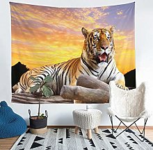 Tiger Tapestry Wall Hanging Safari Wild Print