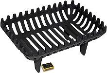 Tigerbox Fireside Premium Quality Black Cast Iron
