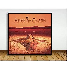 Tiiiytu Alice In Chains - Dirt Album Cover Poster