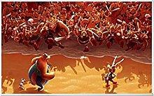 Tiiiytu Asterix France Comic Art Poster Print Wall