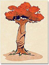 Tiiiytu Forest Bathing Canvas Painting Poster And