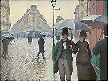 Tiiiytu Gustave Caillebotte – Paris Street Rainy