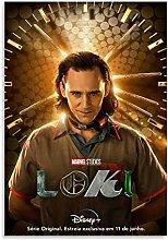 Tiiiytu Movie Poster Loki Poster Canvas Art Poster