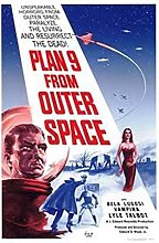 Tiiiytu Plan 9 From Outer Space Movie Canvas