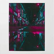 Tiiiytu Vaporwave Reflections Paintings Home