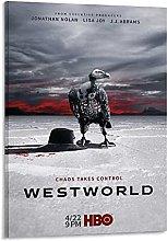 Tiiiytu Westworld Season 2 Tv Series Canvas Art